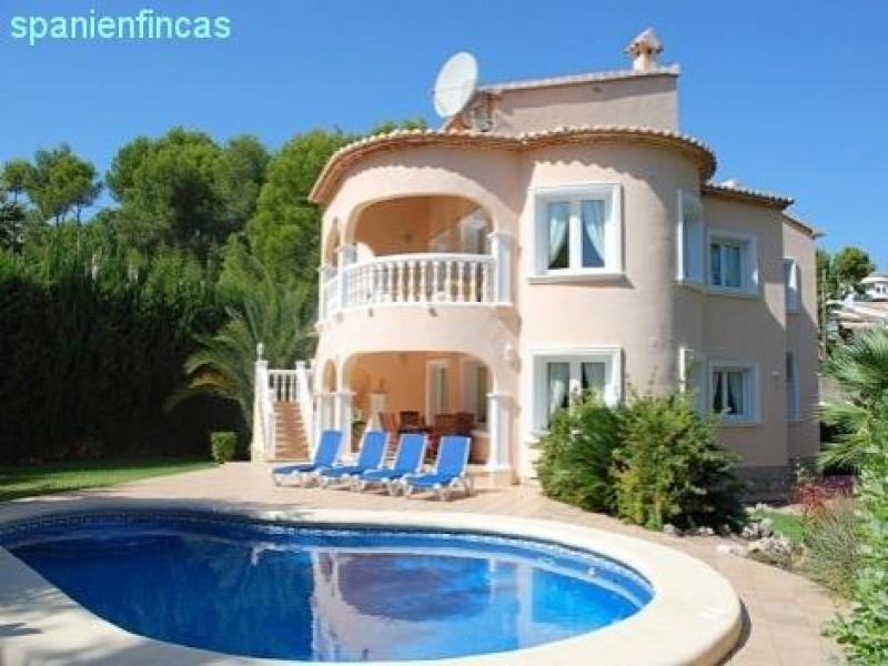 Moraira Fanadix Spanienfincas   Moraira 302qm Villa, 5 Schlafzimmer, Pool,  871qm Grundstück Haus ...