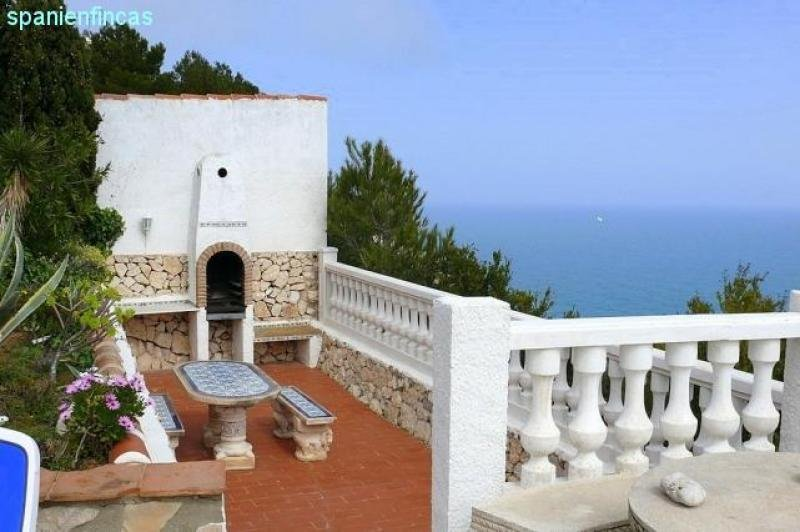 Wundervoll PROVISIONSFREI Spanien, Jávea 1. Meereslinie, 156qm Villa, 3  SE49
