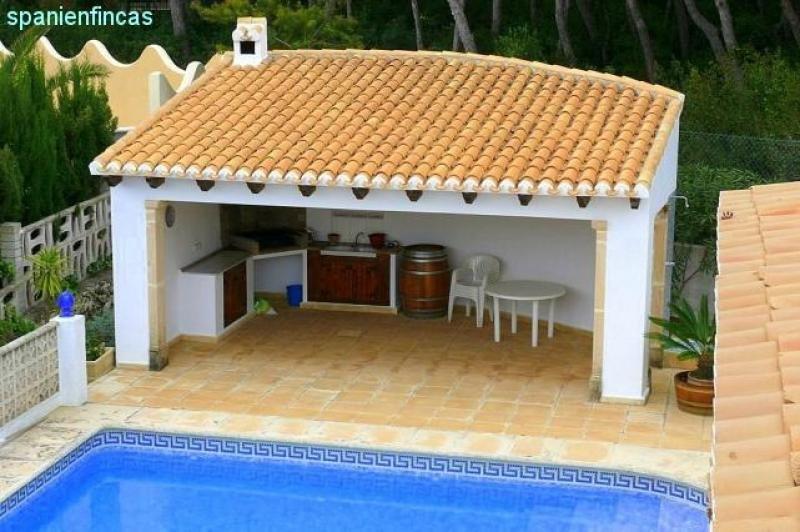 Sommerküchen Kaufen : Jávea 110qm villa 2 schlafzimmer sommerküche pool meerblick