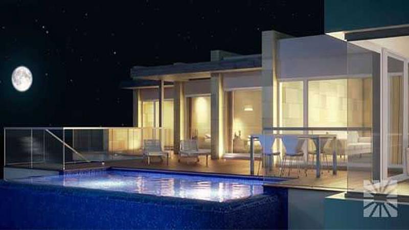 luxuschalet villa cala moraig an der costa blanca. Black Bedroom Furniture Sets. Home Design Ideas