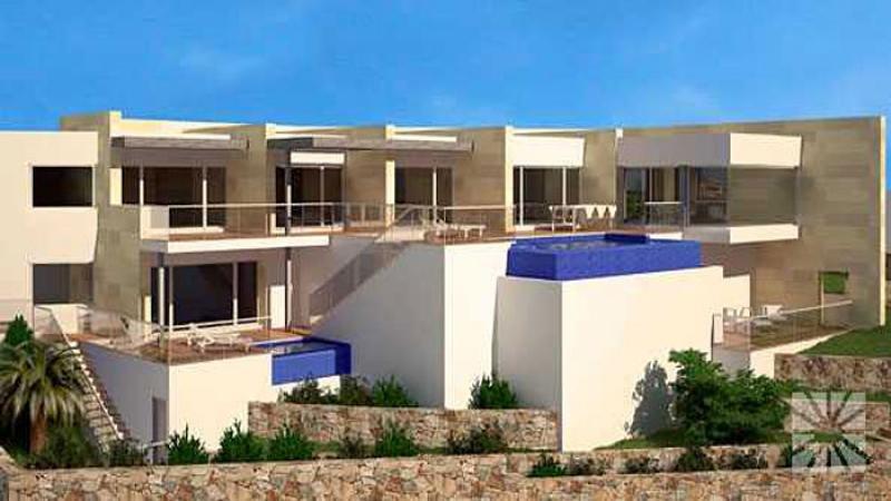 luxuschalet villa cala moraig an der costa blanca homebooster. Black Bedroom Furniture Sets. Home Design Ideas