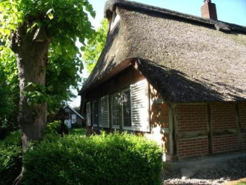 Reetgedecktes Heuerhaus + Remise + Gartenhaus + Lagerhalle + 3500 m² ...