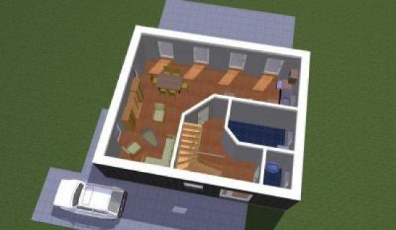 großzügiges modernes Haus mit Pultdach HomeBooster
