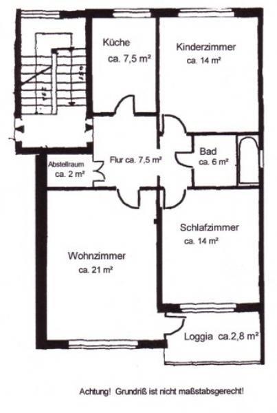 helle 3 zimmer eigentumswohnung 72 qm in ruhiger zentraler lage homebooster. Black Bedroom Furniture Sets. Home Design Ideas