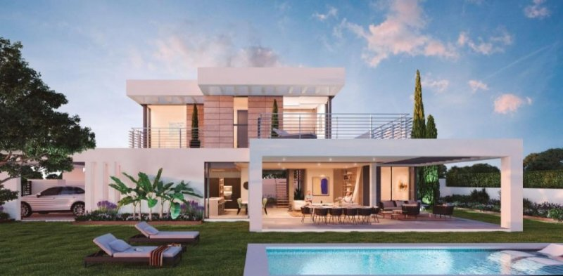 Moderne Villen Mit Offener Raumgestaltung Und Herrlichem Meerblick