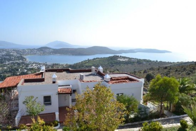 freistehendes haus mit meerblick in bodrum homebooster. Black Bedroom Furniture Sets. Home Design Ideas