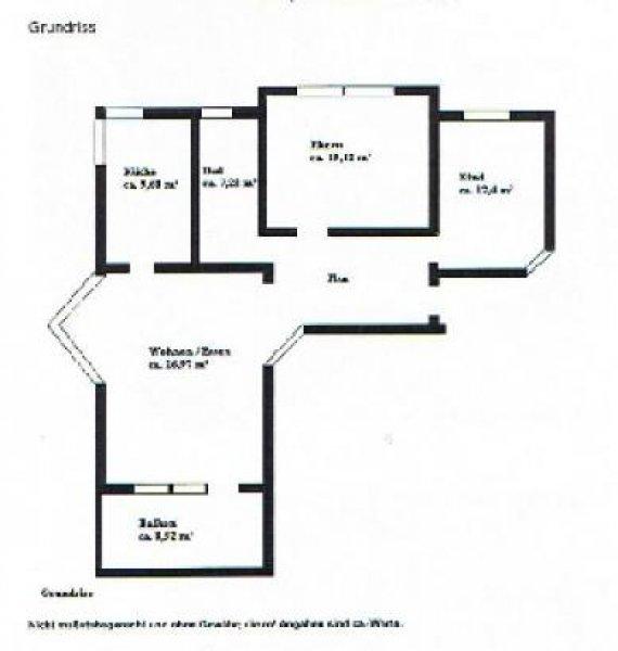 Häuser Ortenaukreis Homebooster: 3-Zimmer-Wohnung