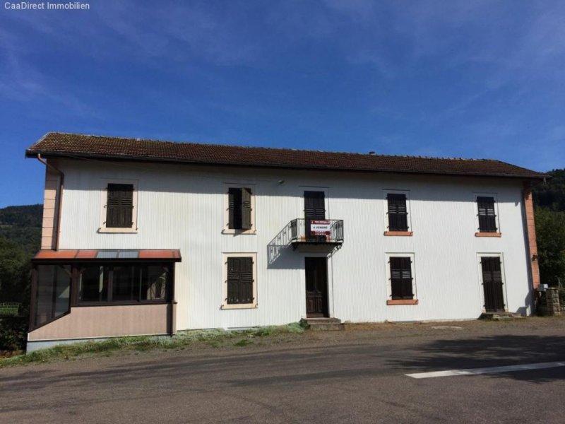 Grosszügiges Doppelhaus Im Dorfkern Mit Grundstück In Den Vogesen
