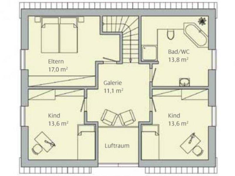energiesparendes einfamilienhaus mit 6 zi 143 m wp und. Black Bedroom Furniture Sets. Home Design Ideas