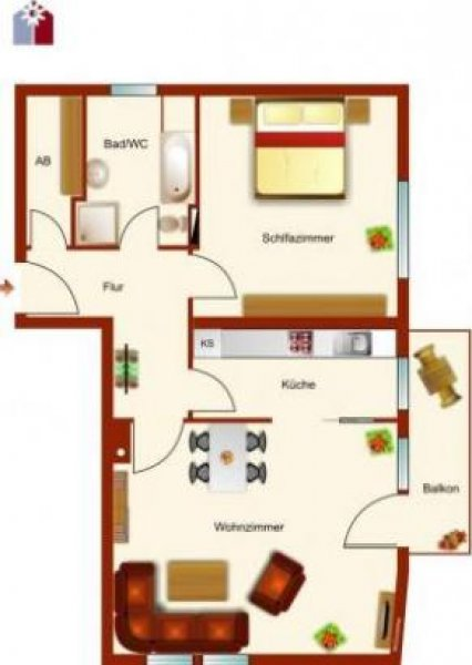 München Bogenhausen 2 Zi Kdb Eg Wohnung 70 Qm Balkon Homebooster